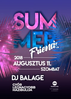summer friends party